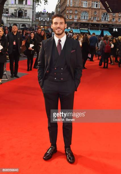Sam Claflin attends the Headline Gala Screening European Premiere of Journey's End during the 61st BFI London Film Festival at Odeon Leicester Square...