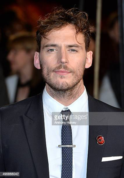 Sam Claflin attends The Hunger Games Mockingjay Part 2 UK Premiere at Odeon Leicester Square on November 5 2015 in London England