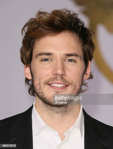 Sam Claflin attends the Los Angeles premiere of 'The Hunger Games Mockingjay Part 1' at Nokia Theatre LA Live on November 17 2014 in Los Angeles...