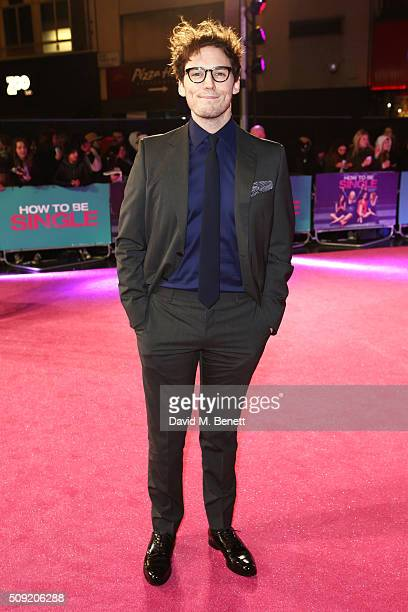 Sam Claflin attends the UK Premiere of How To Be Single at Vue West End on February 9 2016 in London England