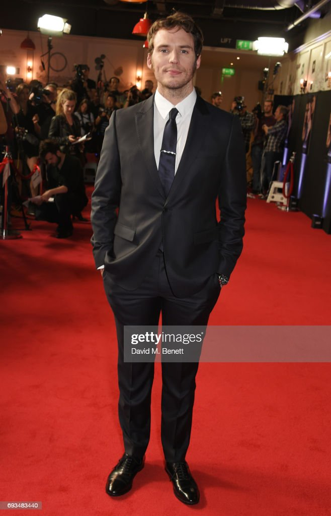 Sam Claflin attends the World Premiere of 'My Cousin Rachel' at the Picturehouse Central on June 7, 2017 in London, England.