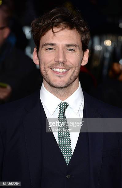 Sam Claflin attends 'Their Finest' Mayor's Centrepiece Gala screening during the 60th BFI London Film Festival at Odeon Leicester Square on October...