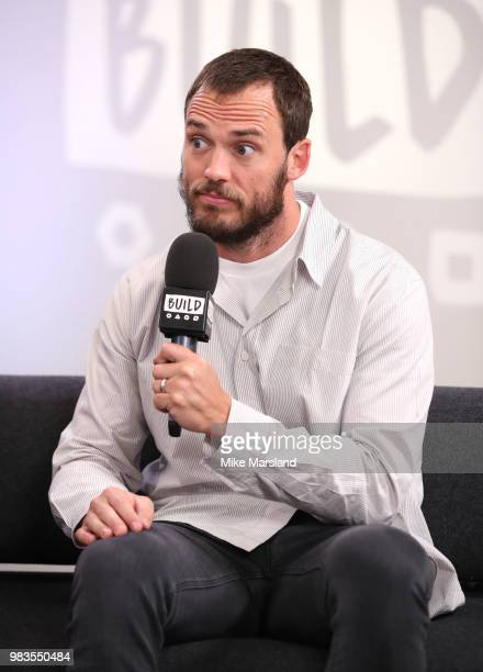 Sam Claflin during a BUILD conversation talking about his new film 'Adrift' on June 25 2018 in London England