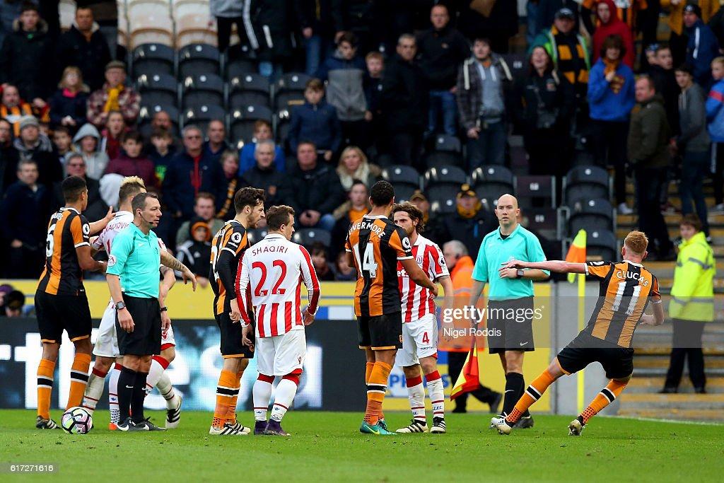 Hull City v Stoke City - Premier League