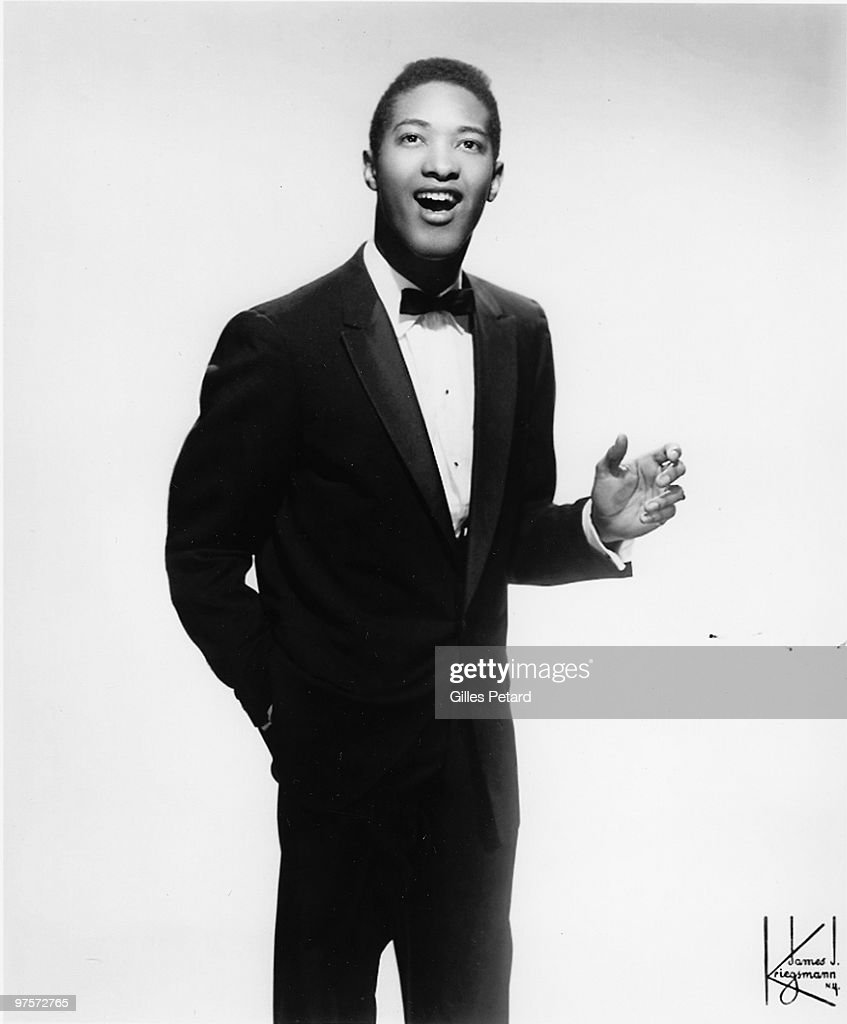 Sam Cooke poses for a studio portrait in 1960 in the United States.