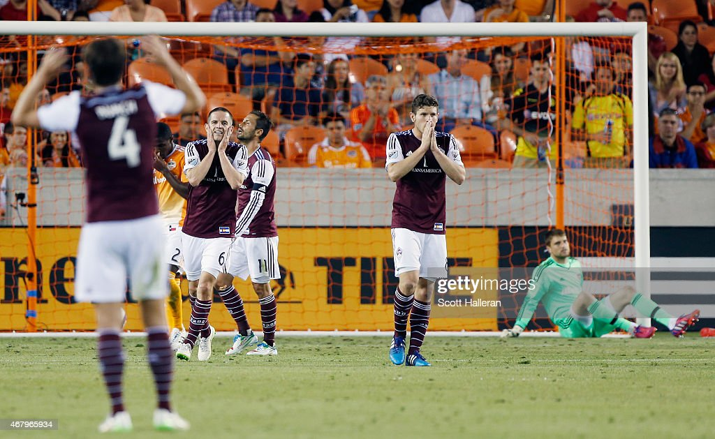Colorado Rapids v Houston Dynamo : Nieuwsfoto's