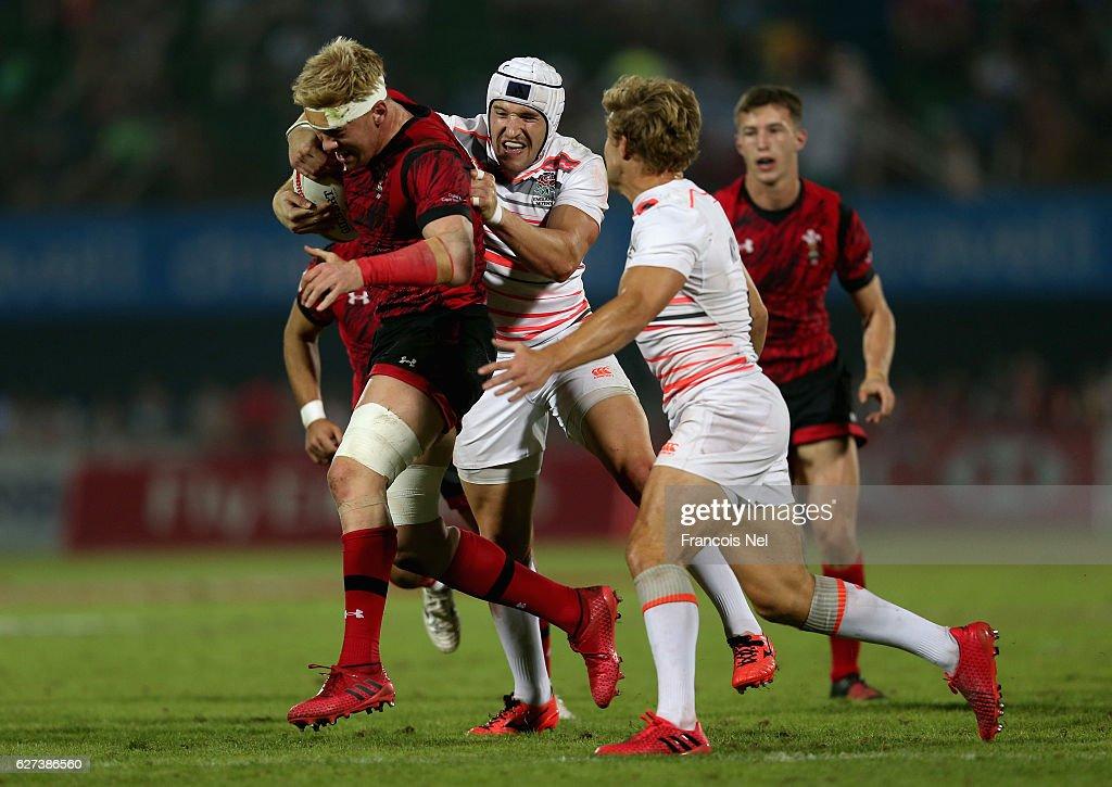 Emirates Dubai Rugby Sevens: HSBC Sevens World Series - Day Three : Photo d'actualité