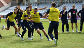 nottingham england sam curran mark wood