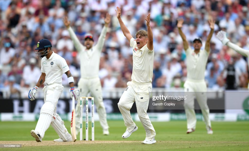 England v India: Specsavers 1st Test - Day Three : News Photo