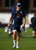 sam curran england arrives for nets