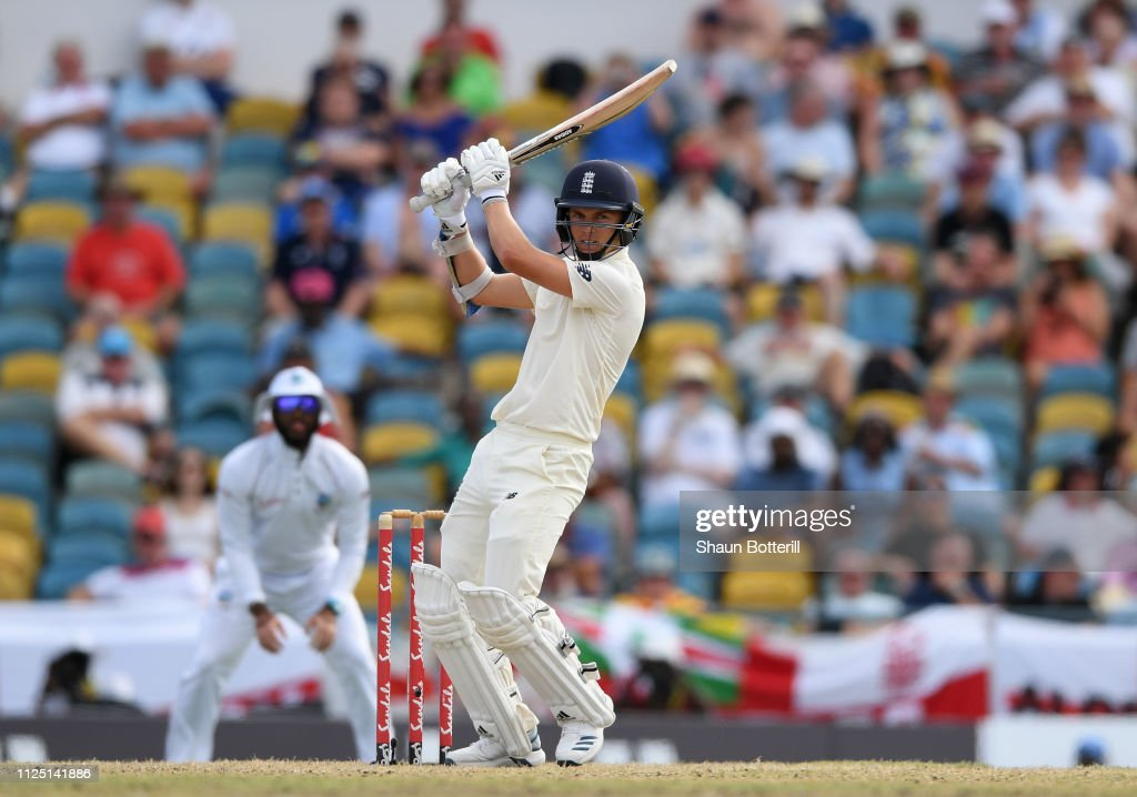West Indies v England - 1st Test: Day Four : News Photo