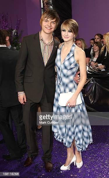 Sam Darbyshire And Ashley Slanina-Davies Arrive For The British Soap Awards 2008 At Bbc Television Centre, Wood Lane, London, W12.
