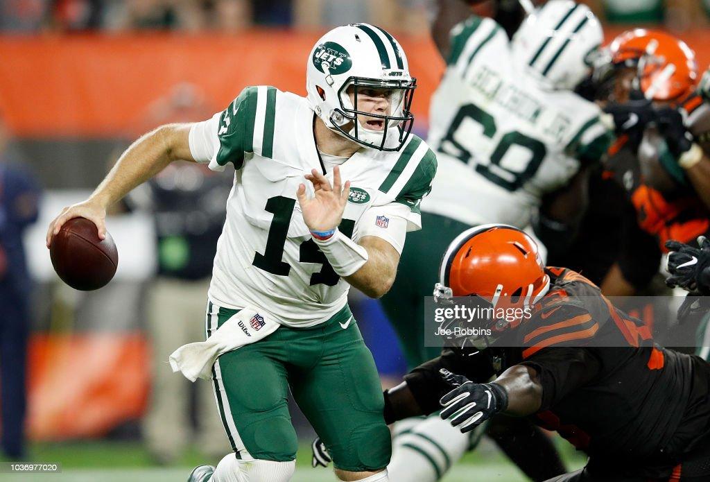 New York Jets v Cleveland Browns : Fotografia de notícias