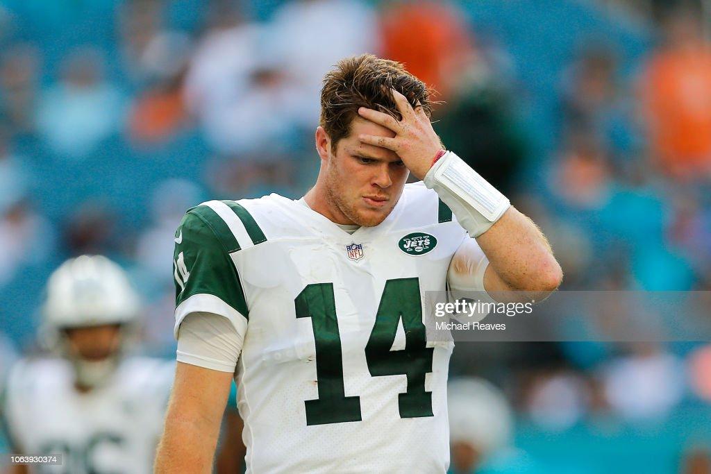 New York Jets v Miami Dolphins : Nachrichtenfoto