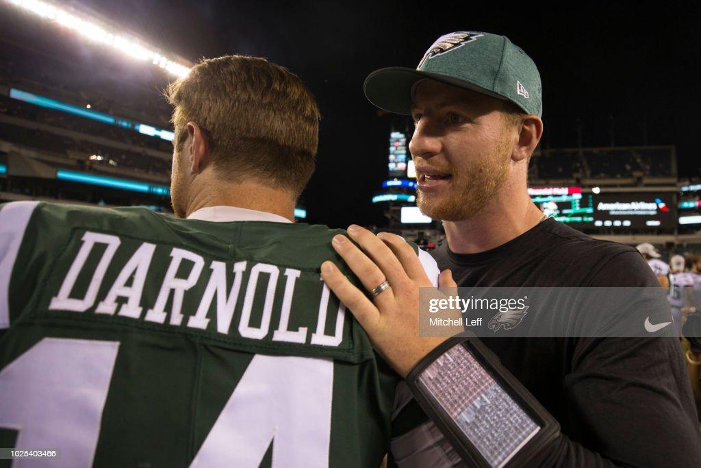 New York Jets v Philadelphia Eagles : News Photo