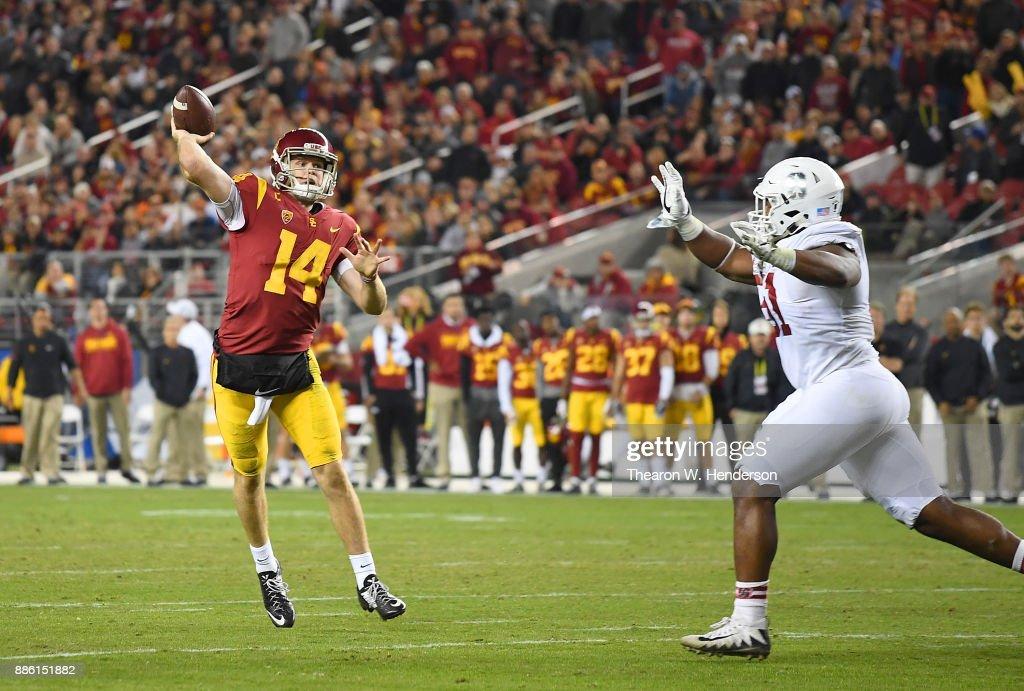 Pac 12 Championship - Stanford v USC : News Photo