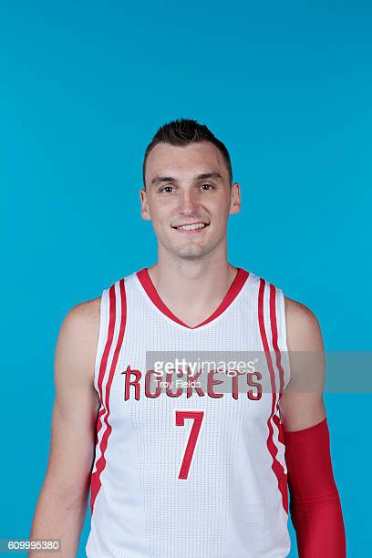 Sam Dekker of the Houston Rockets poses for a headshot during the 20162017 Houston Rockets Media Day on September 23 2016 at the Toyota Center in...