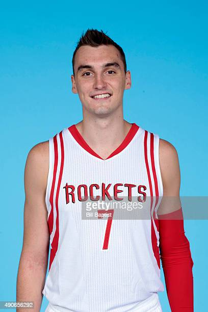 Sam Dekker of the Houston Rockets poses for a photo during NBA Media Day at the Toyota Center on September 28 2015 in Houston Texas NOTE TO USER User...