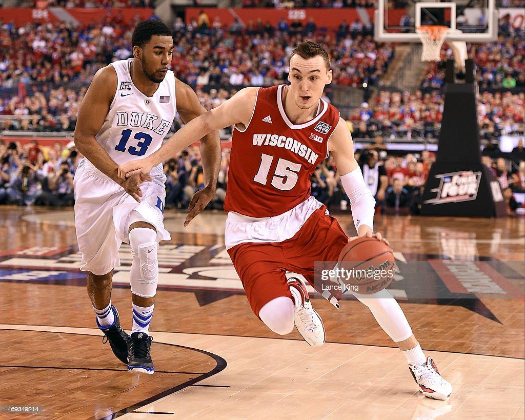 Wisconsin v Duke : News Photo