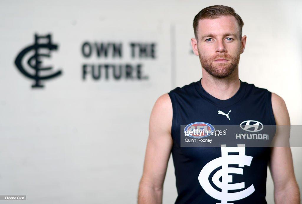 Carlton Blues Media Opportunity : News Photo