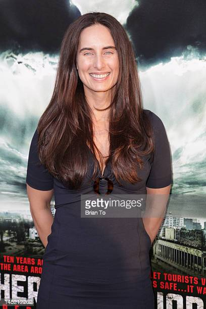 Sam Dock attends the Los Angeles Premiere of 'Chernobyl Diaries' at ArcLight Cinemas Cinerama Dome on May 23 2012 in Hollywood California