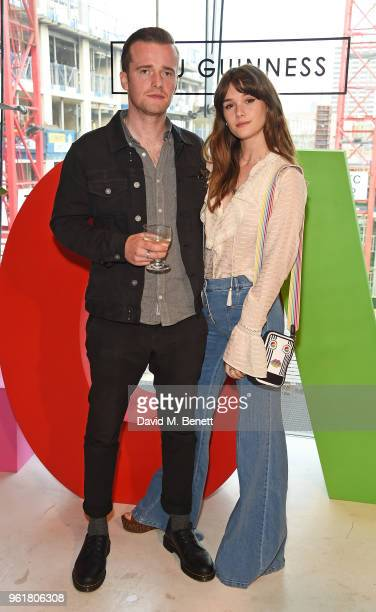 Sam Doyle and Sai Bennett attend Lulu Guinness x Kodak Party on May 23 2018 in London England