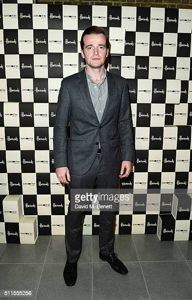 Sam Doyle of the Maccabees attends the Serpentine Future Contemporaries x Harrods Party 2016 at The Serpentine Sackler Gallery on February 20 2016 in...