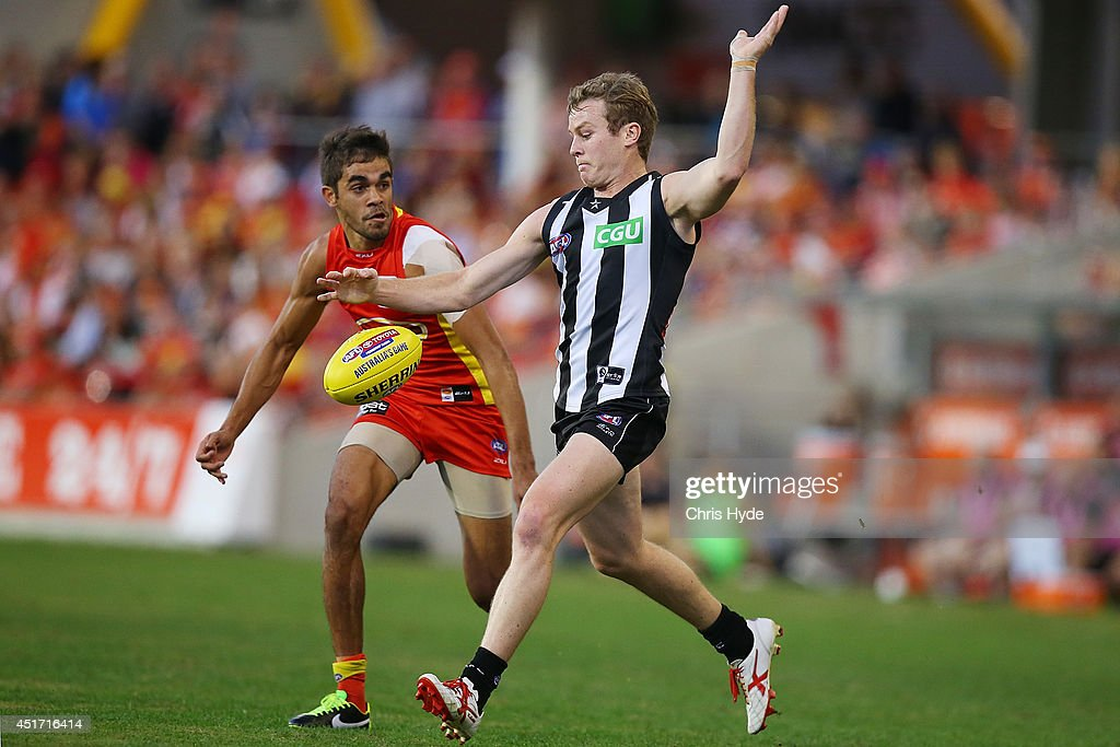 AFL Rd 16 - Gold Coast v Collingwood : News Photo