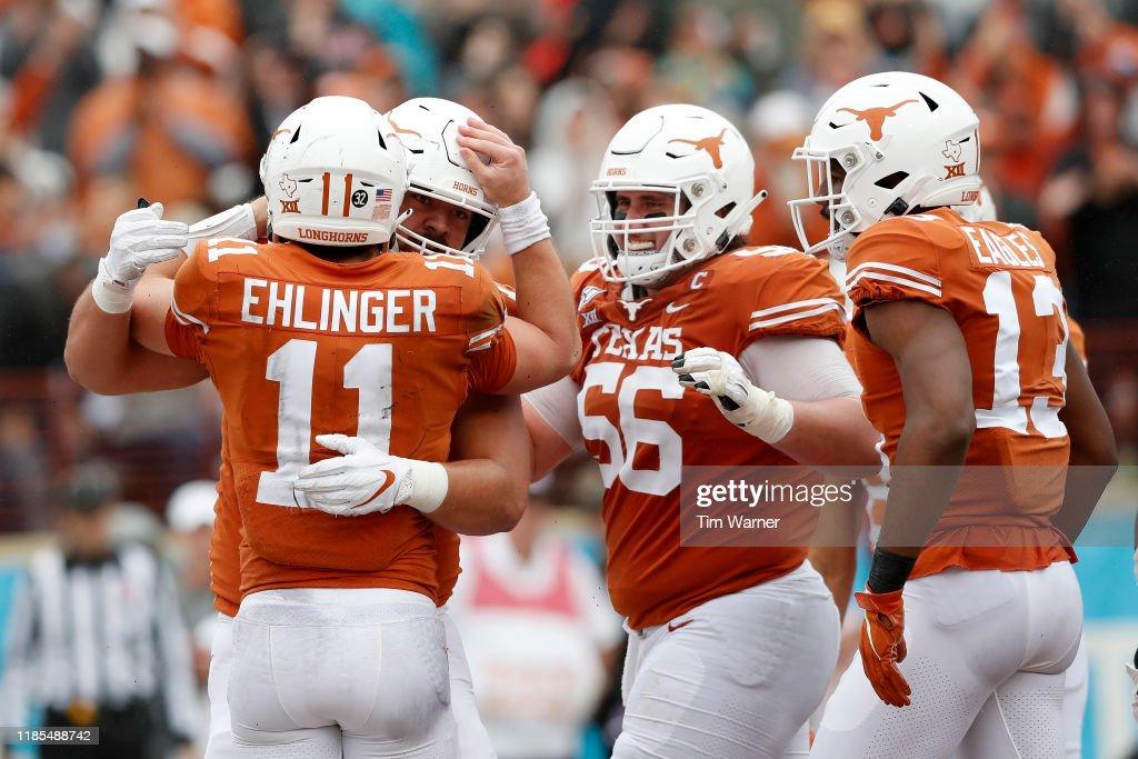 Texas Tech v Texas : ニュース写真