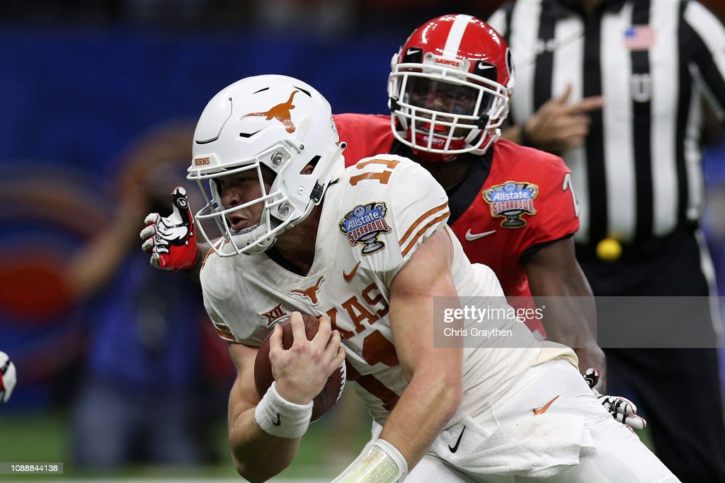 Allstate Sugar Bowl - Texas v Georgia : News Photo