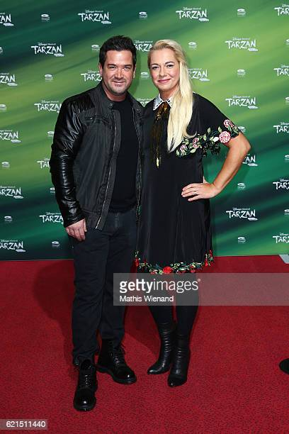 Sam Eistenstein and his wife Mareike attend 'Tarzan' Musical Premiere on November 6 2016 in Oberhausen Germany