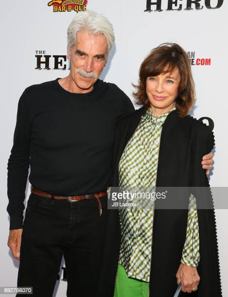 Sam Elliot and Anne Archer attend the premiere of the Orchard's 'The Hero' on June 05 2017 in Hollywood California