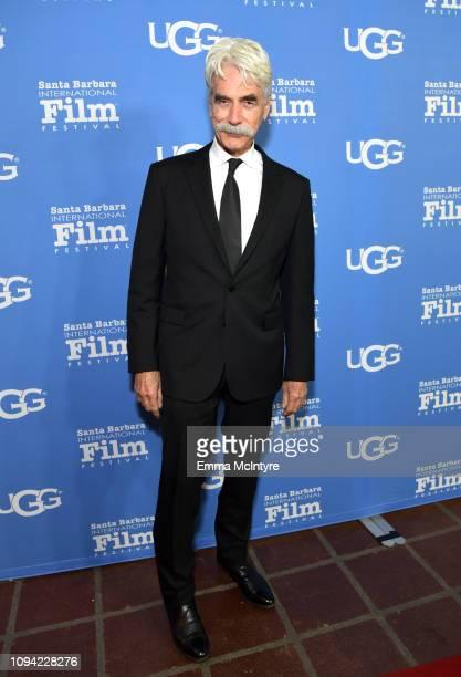 Sam Elliot attends the Virtuosos Award Presented By UGG during the 34th Santa Barbara International Film Festival at Arlington Theatre on February 5,...