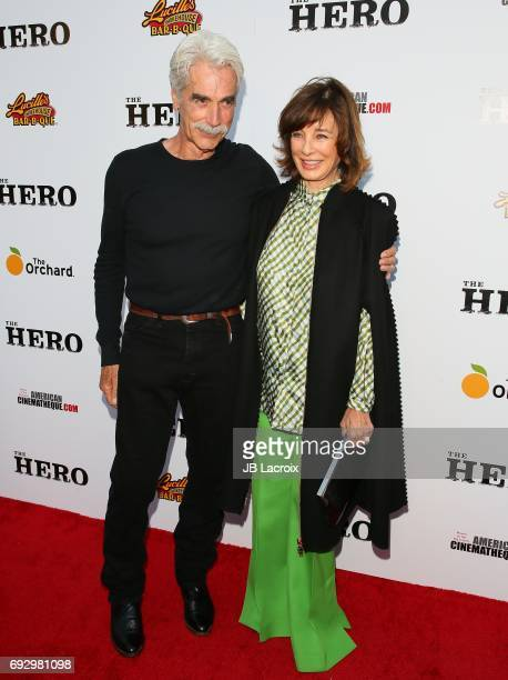 Sam Elliott and Anne Archer attend the premiere of the Orchard's 'The Hero' on June 05 2017 in Hollywood California