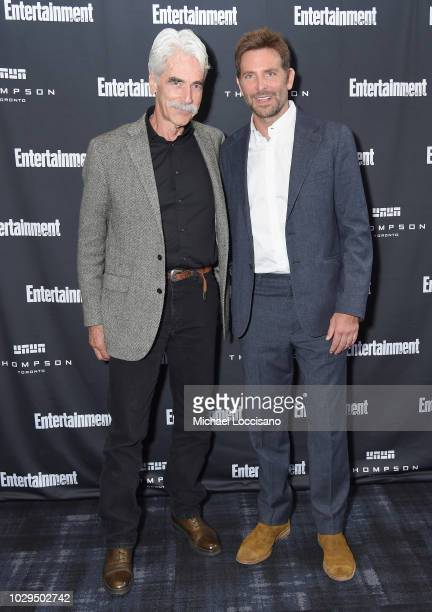 Sam Elliott and Bradley Cooper attend Entertainment Weekly's Must List Party at the Toronto International Film Festival 2018 at the Thompson Hotel on...