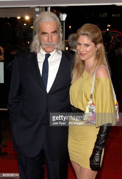 Sam Elliott and daughter Cleo Rose arrive for the premiere of The Golden Compass at the Odeon West End Cinema, Leicester Square, London.