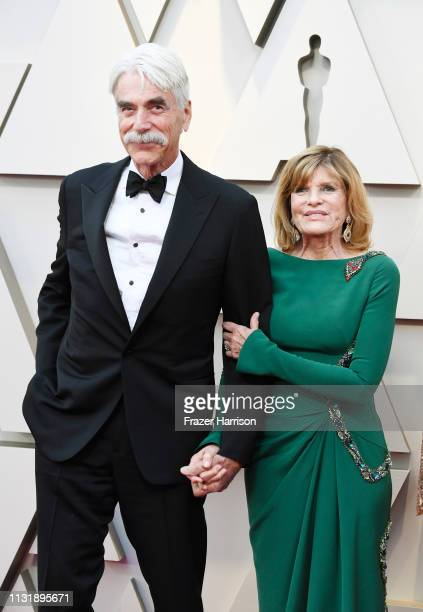 Sam Elliott and Katharine Ross attend the 91st Annual Academy Awards at Hollywood and Highland on February 24 2019 in Hollywood California