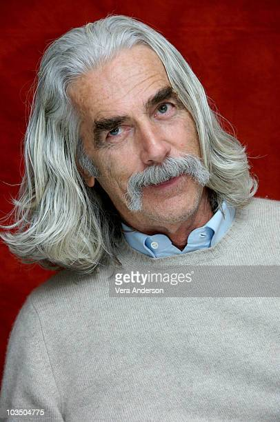 Sam Elliott at The Golden Compass press conference at the Claridges Hotel in London England on November 27 2007