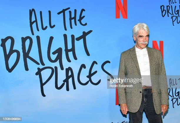 Sam Elliott attends a Special Screening of Netflix's All The Bright Places at ArcLight Hollywood on February 24 2020 in Hollywood California