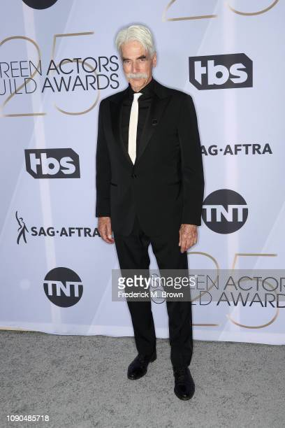 Sam Elliott attends the 25th Annual Screen ActorsGuild Awards at The Shrine Auditorium on January 27, 2019 in Los Angeles, California. 480695