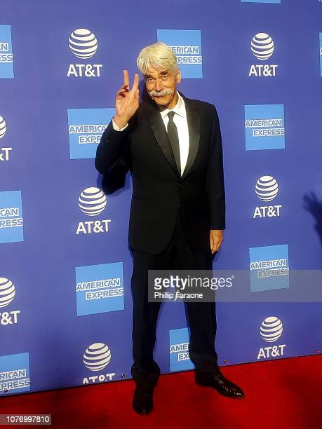 Sam Elliott attends the 30th Annual Palm Springs International Film Festival Film Awards Gala at Palm Springs Convention Center on January 3, 2019 in...