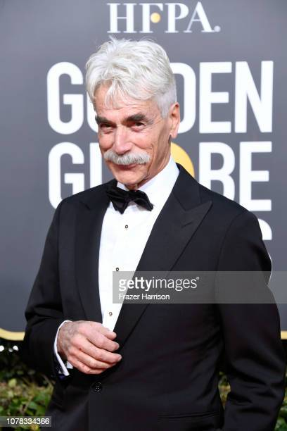 Sam Elliott attends the 76th Annual Golden Globe Awards at The Beverly Hilton Hotel on January 6, 2019 in Beverly Hills, California.