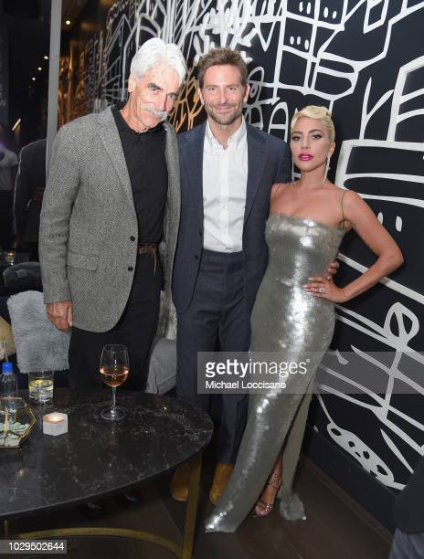 Sam Elliott Bradley Cooper and Lady Gaga attend Entertainment Weekly's Must List Party at the Toronto International Film Festival 2018 at the...
