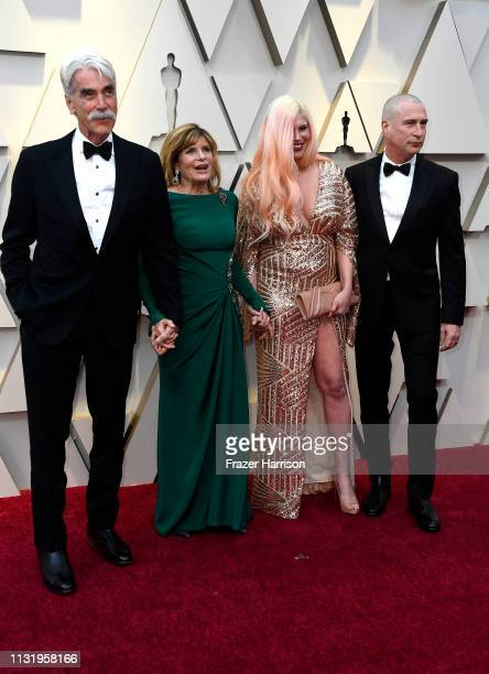 Sam Elliott Katharine Ross Cleo Rose Elliott and Randy Christopher attend the 91st Annual Academy Awards at Hollywood and Highland on February 24...