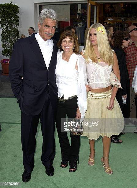 Sam Elliott Katharine Ross Daughter during World Premiere Of The Hulk Hollywood at Universal Amphitheatre in Universal City California United States