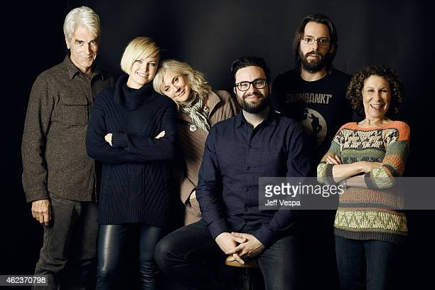 Sam Elliott Malin Akerman Blythe Danner Brett Haley Martin Starr and Rhea Perlman of I'll See You in My Dreams pose for a portrait at the Village at...