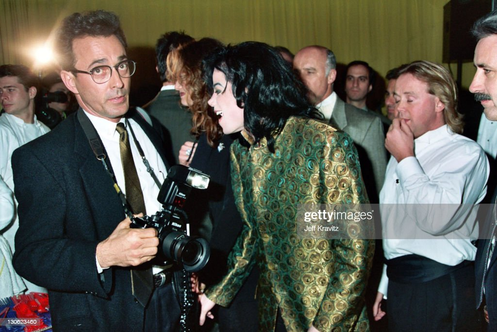 Sam Emerson and Michael Jackson