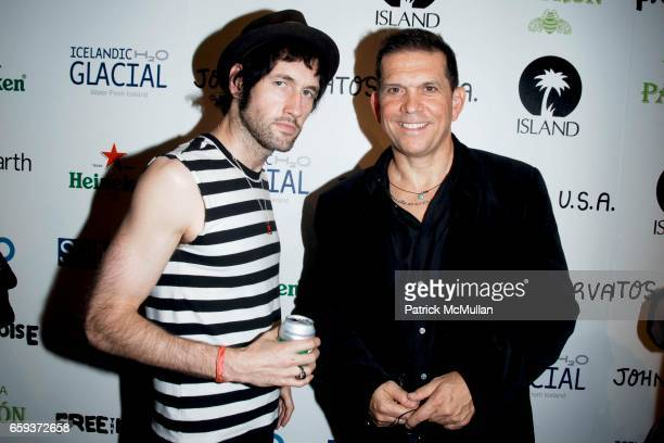 Sam Endicott and Mark DiDia attend JOHN VARVATOS STAR USA host Free The Noise party at John Varvatos 315 Bowery on September 15 2009 in New York City