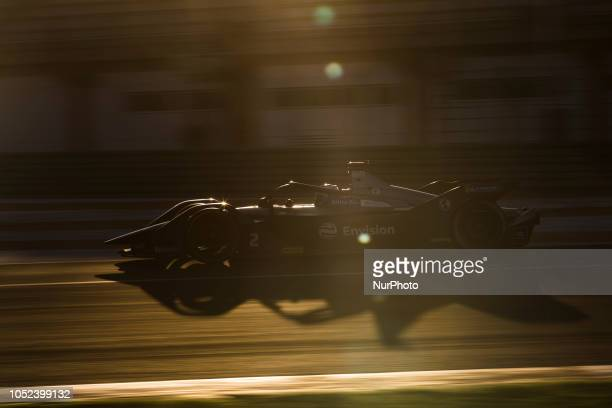 Sam Envision Virgin Racing Team during the Formula E official preseason test at Circuit Ricardo Tormo in Valencia on October 16 18 and 19 2018