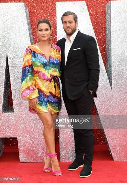 Sam Faiers and Paul Knightley attend the European Premiere of 'Ocean's 8' at Cineworld Leicester Square on June 13 2018 in London England